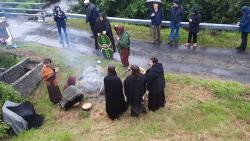Re-enactment of the battle of Stranakirka