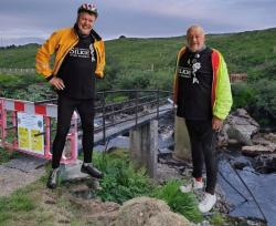 Derek and Victor Fundraising Cycle Thanks