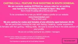 Extras needed for Feature Film in the area