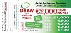 Coiste Forbartha Riverside Projects Summer Draw Winners